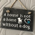 A house is not a home sign