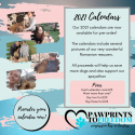PREORDER: Pawprints to Freedom Rescuers Wall Calendar 2021