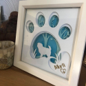 Personalised 3D Papercut Frame